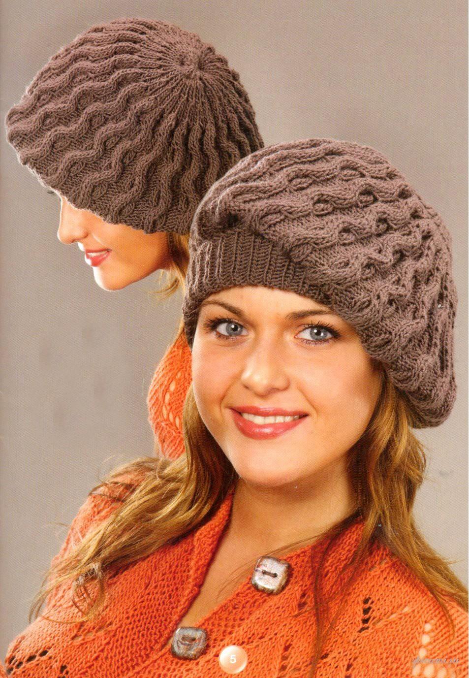 Конец. опубликована хорошая подборка по вязаным шапкам, все модели даны с описанием.  Метки. шапка.