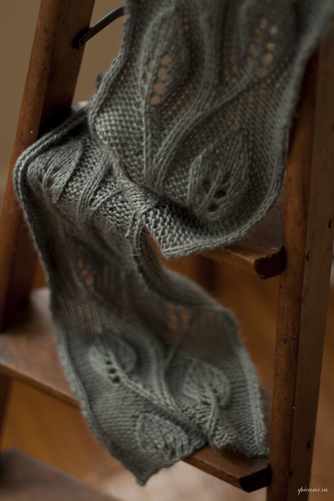 вязать шарф снуд крючком видео онлайн