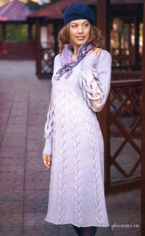 10 - Вязаные платья с описанием - svetlyachoks