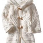 вязаное пальто для детей