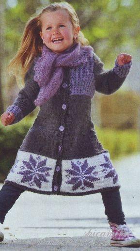 Пальто на девочку (20 фотокарточки ) ::