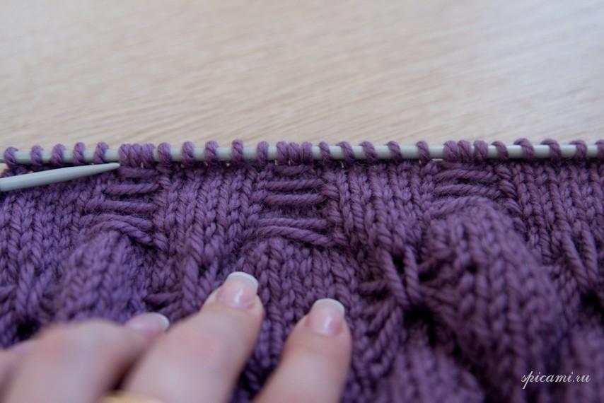 Видео мастер класс вязание резинки на спицах - Вязание носков на 2 спицах. Схемы с подробным