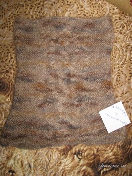...Вязание схемы для полных и Отверстия для пуговиц на вязанном спицами.