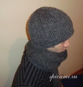 шапочка для мужчины