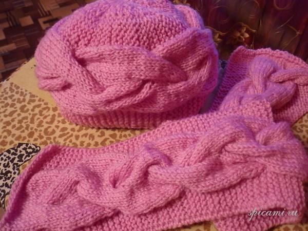 вязание шарфов на вязальной машине - Выкройки одежды для детей и взрослых.