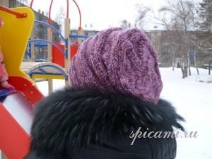 шапочка спицами