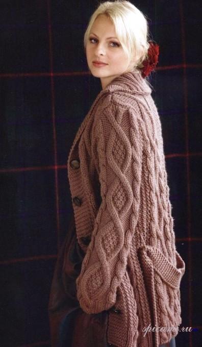 Красивое вязание  Людмила Шерстобой  Простые схемы