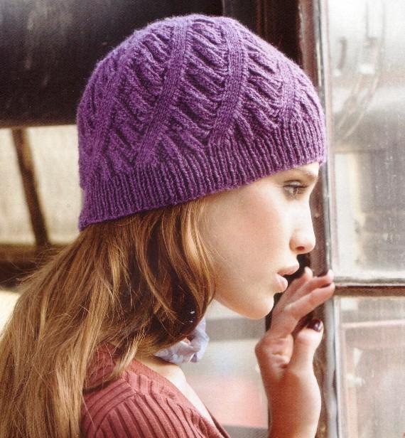 Вязание шапочки шарфы на спицах