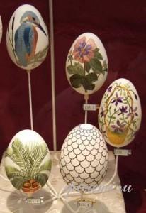 вышивка -пасхальные яйца