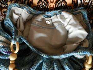 Сумка Тучный мешок Вязание спицами, крючком, уроки вязания.