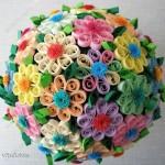 из бумаги цветы