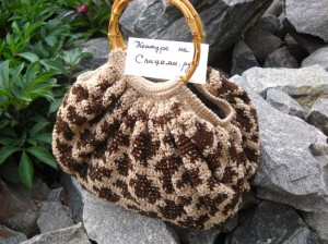 """""""леопардовая"""" сумка"""