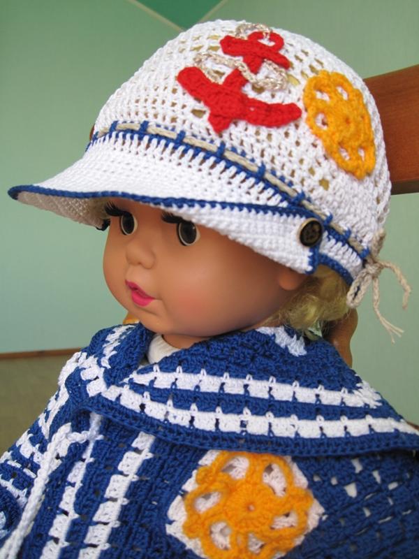 Схема вязание крючком кепки для мальчика крючком