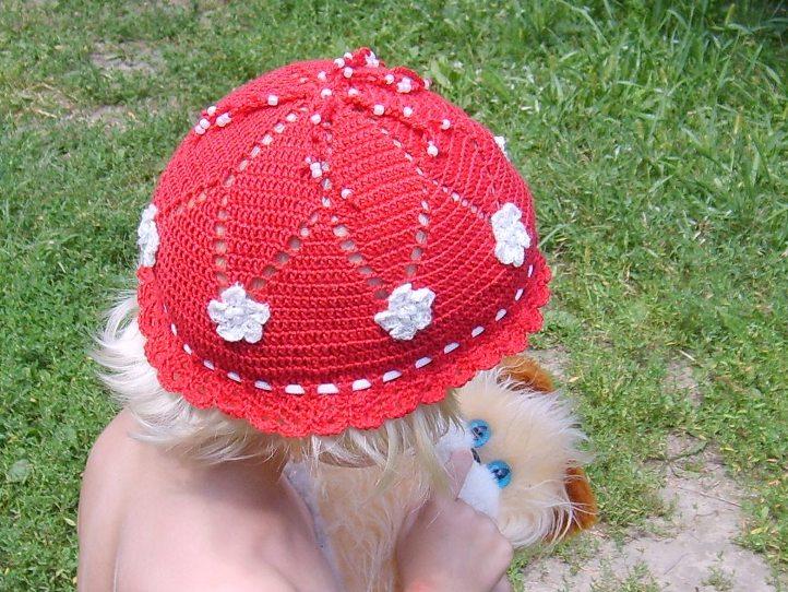 Мастер класс по вязанию детской шапки крючком