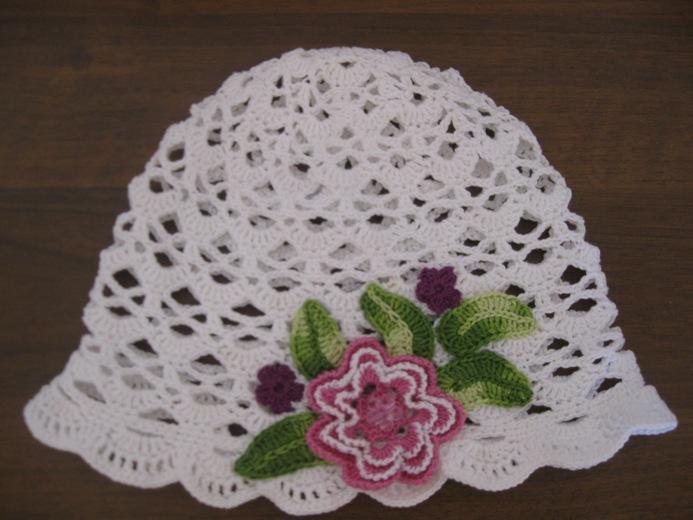 Нарядная панамка для девочки | вязание для девочек | вязание.