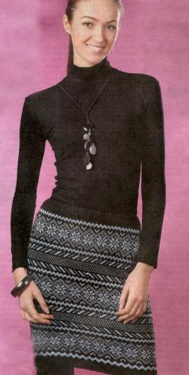 """На нашем сайте для девушек  """"Дамочка """" Вы всегда можете найти публикацию - вязание спицами юбки 2012, с фотографиями..."""