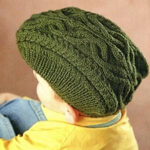 кепка для мальчика спицами