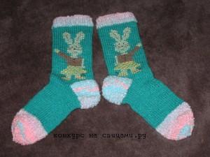 детские носочки с вышивкой