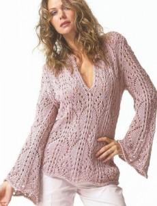 Оригинальные свитера женские вязаные