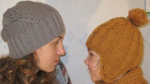 шапки спицами