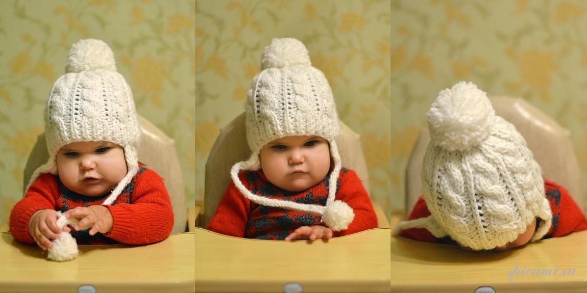 Вязание колпак для малышей 63
