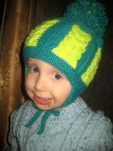 шапочка для ребенка спицами