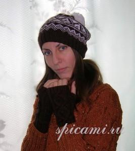 шапочка в норвежском стиле