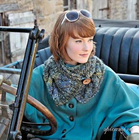 Вязание на спицах шапок - Вязание спицами, модели и схемы для вязания на спицах.