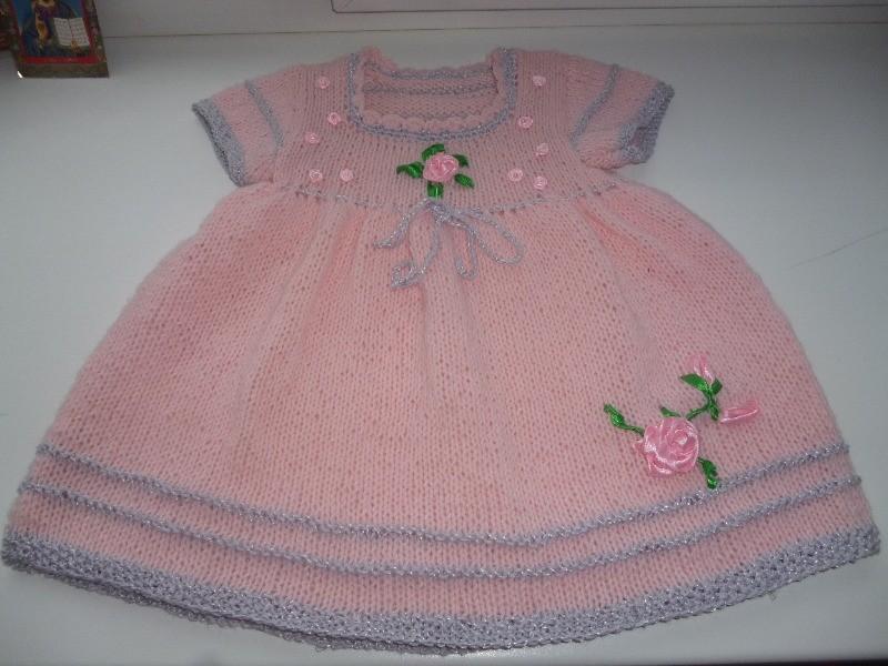 Вязание как вязать платье