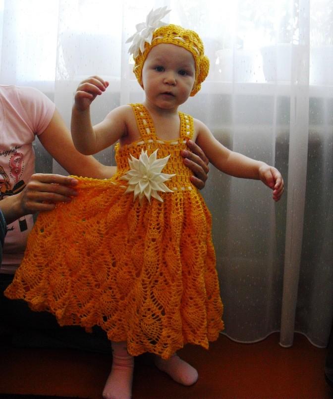Ажурные Платья Для Детей