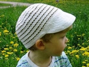кепка для мальчика крючком