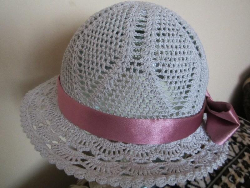 Шляпа для девочки крючком схема фото 92