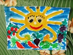 рисуем лето