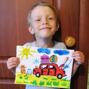 рисунок на конкурс рисуем лето