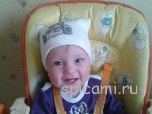шапочка для малыша