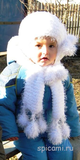 вяжем шапки и шарфы   Вязание спицами, крючком, уроки вязания