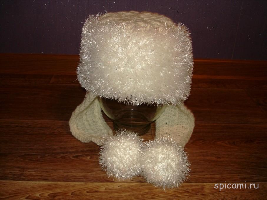 Вязание спицами шапок с травки 377
