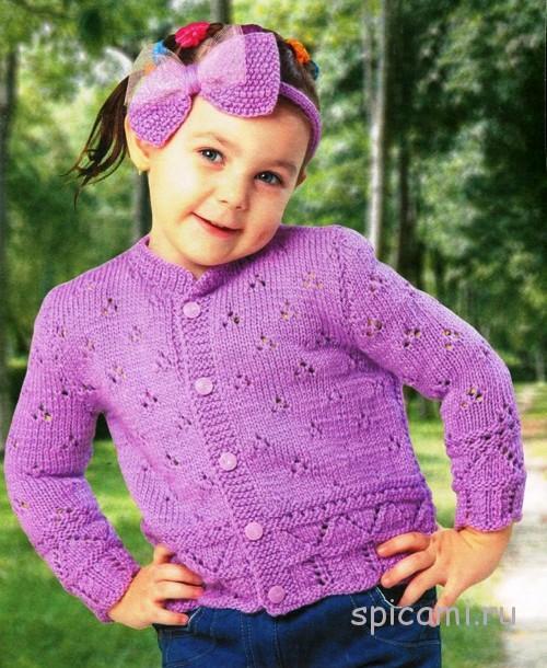 Вязание костюм на девочку 5 лет 733