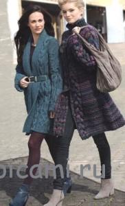 вязаное палть модели с описанием