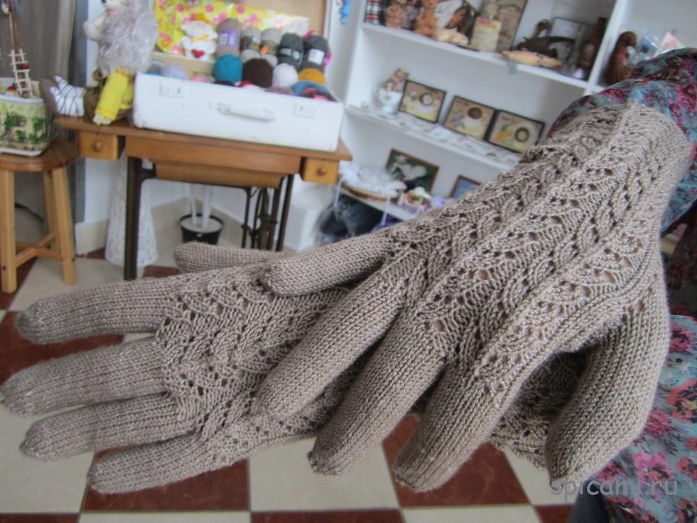 Мастер класс по вязанию перчаток 475