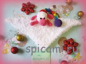 овечка-одеяло Ду-ду