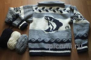 свитер от Filson