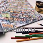 Раскраски для взрослых от издательства МИФ