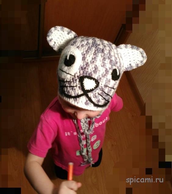 уроки вязания шапочки для девочки