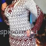 Платье «Орнамент» жаккардовое