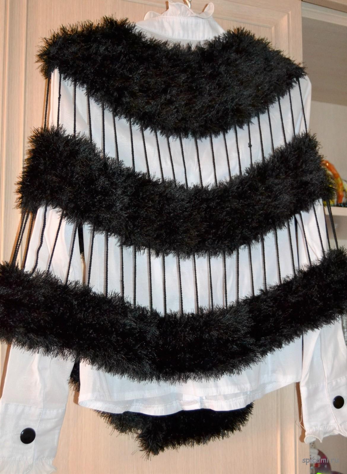 Образец расчета петель вязания