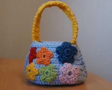 Мастер-класс по вязанию сумочки