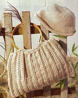 Сумка и шляпа