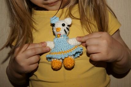 Еще одна игрушка- амигуруми