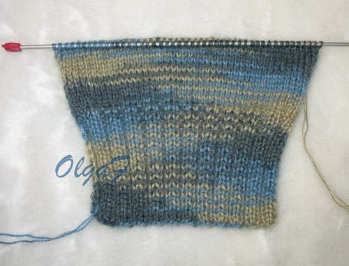 Вязание носков на 2-х спицах (мастер-класс)